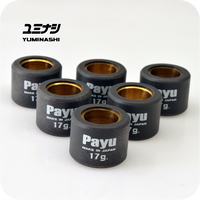 17 GR. ROLLER WEIGHT SET Φ23x18 (HONDA SH300i / FORZA300 / YAMAHA XMAX 300) (22123-B74-017)
