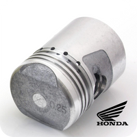 GENUINE HONDA PISTON Ø39.25MM, 0.25 6V. (Z50 / Z50M / Z50A / Z50R / ST50 / CD50 / SS50...) (13102-036-000A) (CF120 PISTON TYPE)