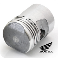 GENUINE HONDA PISTON Ø40MM, 1.00 6V. (Z50 / Z50M / Z50A / Z50R / ST50 / CD50 / SS50...) (13105-036-000A) (CF120 PISTON TYPE)