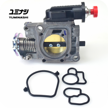 YUMINASHI 32MM THROTTLE BODY WITH MANUAL IACV VALVE UPGRADE SET (PCX150 LED - Z125 PRO - FORZA125 - SH125/150 SMART KEY) (16410-K36-032X )