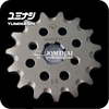 15T (420) JOMTHAI SELF-CLEANING FRONT SPROCKET RACING SERIES (CHROMOLY SCM21 STEEL ALLOY)