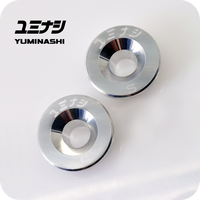 YUMINASHI LIGHT-WEIGHT ALUMINUM ALLOY VALVE SPRING RETAINER SET (FOR 5MM VALVE STEM) (14771-KWN-105)