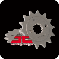 14T JT HIGH CARBON STEEL SPROCKET (CB300F/CBR250/CBR300/CRF250/CBF250/XR250) (JTA-H-CBR250-520-F 14T
