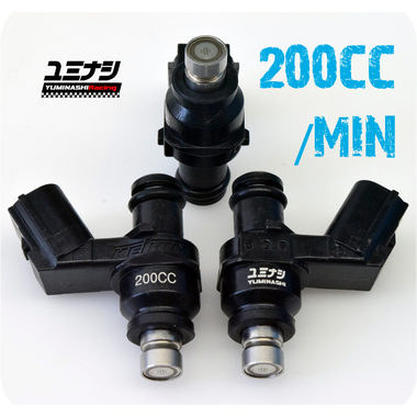 YUMINASHI 200CC B-TYPE (12-HOLES) HIGH-PERFORMANCE SERIES INJECTOR (16450-B12-200R)