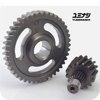 YUMINASHI 16/42 FINAL GEAR SET / HEAVY DUTY (AIR BLADE 125 - CLICK125/150 - PCX125/150 - SH125i/150i)) (23420-KZY-1642)