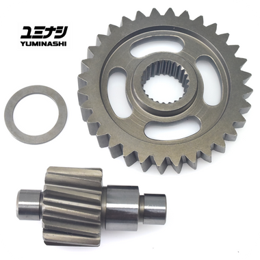 YUMINASHI 13/32 FINAL GEAR SET / HEAVY DUTY (AEROX155 / NMAX155 / NVX155) (23420-ARX-1332)