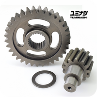 YUMINASHI 13/33 FINAL GEAR SET / HEAVY DUTY (AEROX155 / NMAX155 / NVX155) (23420-ARX-1333)
