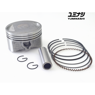 YUMINASHI 58MM (13MM PIN) FLAT HIGH COMPRESSION PISTON (FOR PCX150 CYLINDERHEAD) (13100-KZY-5813A)