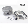 YUMINASHI 58MM (13MM PIN) FLAT HIGH COMPRESSION PISTON (FOR STOCK 125CC CYLINDER HEAD) (13100-KZR-5813A)