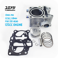 YUMINASHI 153CC (58MM) FLAT HIGH COMPRESSION CYLINDER KIT (FOR 125CC ENGINE) (13103-KZY-5813A)