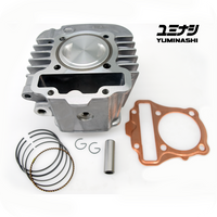 YUMINASHI 142CC (57MM) LIGHT BIG BORE KIT (W110i / DREAM 110i / C110 SUPER CUB) (12103-KYK-570A)