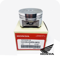 GENUINE HONDA PISTON (O.S. 1.00) (PCX125 / SH125i / CLICK125i / AIR BLADE125 / LEAD125) (13105-KWN-903)