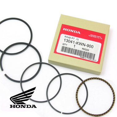 GENUINE HONDA 0.75 RING SET, PISTON (PCX125 / SH125i / CLICK125i / AIR BLADE125) (13041-KWN-900)