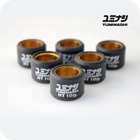 YUMINASHI 10 GR. HT ARAMID HIGH TEMP. ROLLER WEIGHTS SET (Ø20x15MM) (22123-KWN-A10HT)