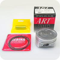 "GENUINE ""ART"" 0.50 (57.9MM) PISTON ASSY / 14MM PIN (PCX150 ('14- ) / VARIO150 / ADV150) (K-K36-0.50)"