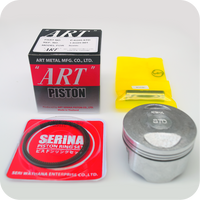 "GENUINE ""ART"" 58MM (STD) PISTON ASSY / 13MM PIN (CBR125R ('04- ) / SONIC125R / SONIC125RS) (K-KGH-STD) (13101-KGH-901 / 13101-KGH-902)"