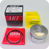 "GENUINE ""ART"" 58.25MM (0.25) PISTON ASSY / 13MM PIN (CBR125R ('04- ) / SONIC125R / SONIC125RS) (K-KGH-0.25) (13102-KGH-315 / 13102-KGH-325)"