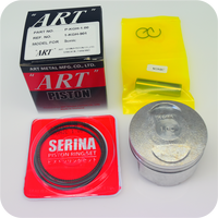 "GENUINE ""ART"" 59MM (1.00) PISTON ASSY / 13MM PIN (CBR125R ('04- ) / SONIC125R / SONIC125RS) (K-KGH-1.00) (13105-KGH-315 / 13105-KGH-325)"