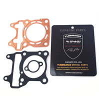 YUMINASHI 60MM/164CC FULL FLOW (8-HOLES) COPPER HEAD GASKET SET (150 HEAD/PCX125 V1) (12251-KWN-600CSB)