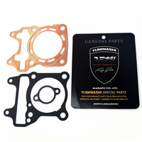YUMINASHI 62MM/175CC FULL FLOW (8-HOLES) COPPER HEAD GASKET SET (FOR 150 HEAD) (12251-K97-620CS)