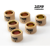 12GR YUMINASHI (PAYU JAPAN) ROLLER WEIGHTS (Ø20x15MM) FOR PCX125 / PCX150 / SH125i & SH150i ABS