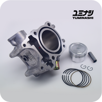 YUMINASHI 58MM (153CC) ECO STD CYLINDER KIT FOR 150 HEAD (ADV150 / PCX150 / SH150i) (12100-KZY-5814)