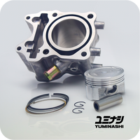 YUMINASHI 158CC (59MM) ECO STD CYLINDER KIT FOR 150 HEAD (ADV150 / PCX150 / SH150i) (12100-KZY-5914)