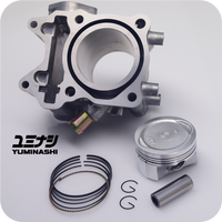 YUMINASHI 60MM (164CC) ECO CYLINDER KIT FOR 150 HEAD (ADV150 / PCX150 / SH150i) (12100-KZY-6014)