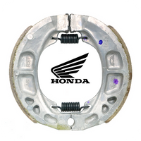 GENUINE HONDA 110X25MM GENUINE HONDA BRAKE SHOE SET (ST50/CT70/Z50A/Z50J/...) (06430-KPH-900)