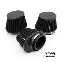 GENUINE YUMINASHI 53MM DARK OVAL PERFORMANCE SERIES, NON-WOVEN AIR FILTER (17220-000-V53B)