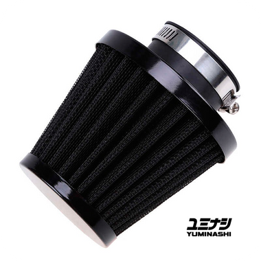 GENUINE YUMINASHI 35MM DARK CONE PERFORMANCE SERIES, NON-WOVEN AIR FILTER (17220-000-R51B)