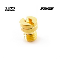 MAIN JET, GENUINE KEIHIN TYPE 99101-393 (FOR PE/PWK/PL CARBURETORS)