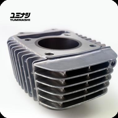 YUMINASHI 143CC (56MM) CYLINDER - ALUMINIUM (MONKEY Z125 / C125 / MSX GROM125) (12100-KYZ-560)