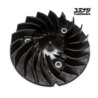 YUMINASHI COOLING FAN, HIGH PERFORMANCE, 28-BLADES (ADV150 / PCX125-150 / SH125-150...) (19510-KWN-000)