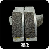 YUMINASHI CARBON CORE CLUTCH LINER / CLUTCH WEIGHT SET (3PCS/SET) (SH300/ ADV300 / FORZA300) (22535-KVZ-630CB)