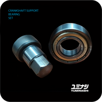 CRANKSHAFT SUPPORT BEARING SET (MSX/GROM 125 & SF - Z125 MONKEY - C125 SUPER CUB)