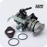 YUMINASHI 30MM THROTTLE BODY & MANIFOLD SET (MSX/GROM125 - Z125 MONKEY - CRF110F...) (16400-K26-030S)