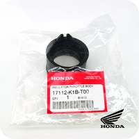 GENUINE HONDA INSULATOR, THROTTLE BODY (ADV350 / SH350i / FORZA350) (17112-K1B-T00)