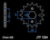 15T (428) SCM420 CHROMOLY STEEL ALLOY SPROCKET (JTF1264) (JTA-H-DA-428-F-15)