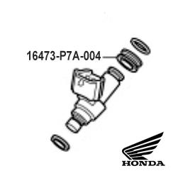 GENUINE HONDA CUSHION RING (DENSO INJECTOR/BIG BIKE) (CB / CBR / CRF / VTX...) (16473-P7A-004)