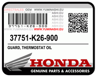 E-04/ 04. GUARD, THERMOSTAT OIL (MSX125 / GROM125)
