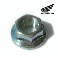 E-09/ 04. GENUINE HONDA NUT, FLANGE, 12MM (MSX125 / GROM125 / Z125 MONKEY) (94050-12000)