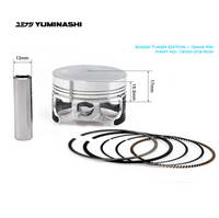 YUMINASHI 60MM TUNER EDITION PISTON SET (13MM PIN) (13100-013-600)