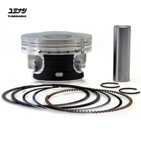 YUMINASHI 60MM LIGHT BORE PISTON SET (eSP 150 ENGINES) (13100-KZY-600A)