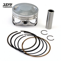 YUMINASHI 62MM LIGHT BORE PISTON SET (eSP 150 ENGINES) (13100-KZY-6214B)