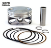 YUMINASHI BORE UP PISTON FOR 125CC ENGINES WITH 150 HEAD