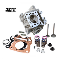 YUMINASHI 150 STD HEAD (23/29MM VALVES) FOR 175CC SET (eSP 125 & 150 ENGINES) (12010-KZY-620)