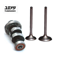 YUMINASHI SX290 8.2 HIGH-LIFT CAMSHAFT & HIGH LIFT VALVES SET (Z125 MONKEY - MSX/GROM125 & SF - WAVE125i)