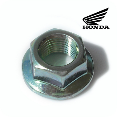 GENUINE HONDA OEM NUT, FLANGE (12MM) / ECROU DE BRIDE (12MM) (PCX150 1ST GEN) (94050-12000)