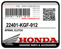 SPRING, CLUTCH / RESSORT D'EMBRAYAGE (PCX150 (2012-2014)) (22401-KGF-912)